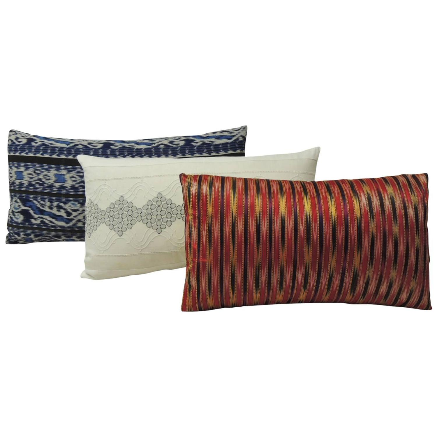 decorative bolster and lumbar pillows at 1stdibs