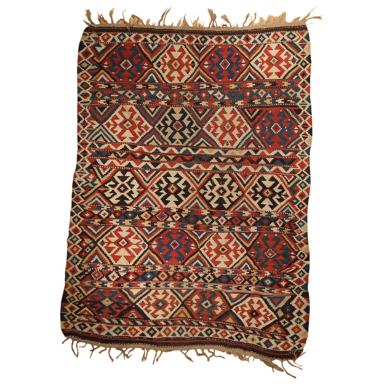 Armenian Antique Rugs: Antique Armenian Kazak Kilim For Sale At 1stdibs