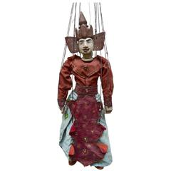 Vintage Burmese Puppet