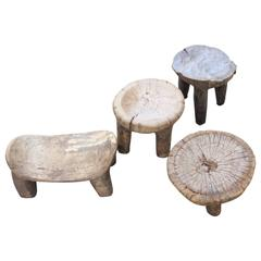 Collection of Sunufo Stools