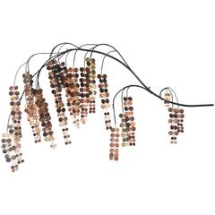 Curtis Jere Copper Weeping Willow Wall Hanging - ON SALE
