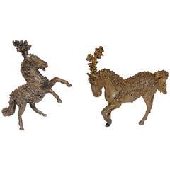 Bronze Circus Horses by Sasha Brastoff