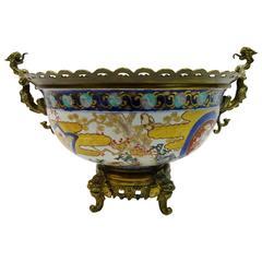 Large 19th Century Japanese Imari Bowl