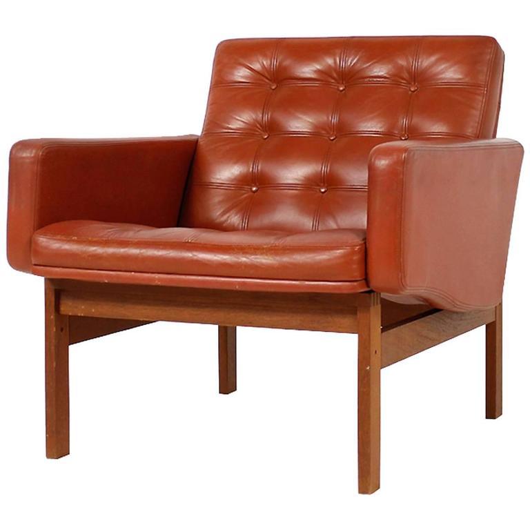 1960s Danish Easy Chair by Ole Gjerlov-Knudsen & Torben Lind for CADO For Sale