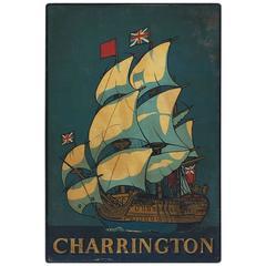 English Pub Sign Charrington