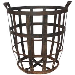 Large Industrial Metal Basket