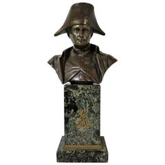 19th Century French Bronze Sculpture of Napoleon