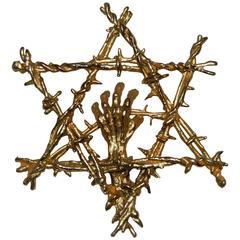"""Holocaust Star"" by Sascha Brastoff"