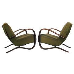 Sexy Thonet Art Deco Lounge Chairs