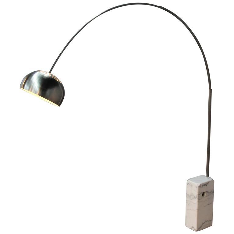 Achille And Pier Giacomo Castiglioni Arco Lamp For Sale At