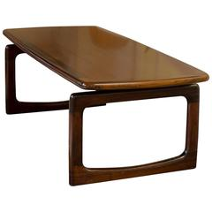 Exquisite Rosewood Coffee Table by Dyrlund