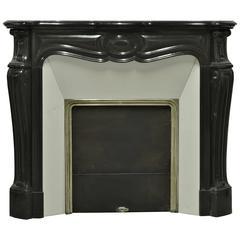 Original Parisian Antique Fireplace Mantel, Louis XV Style