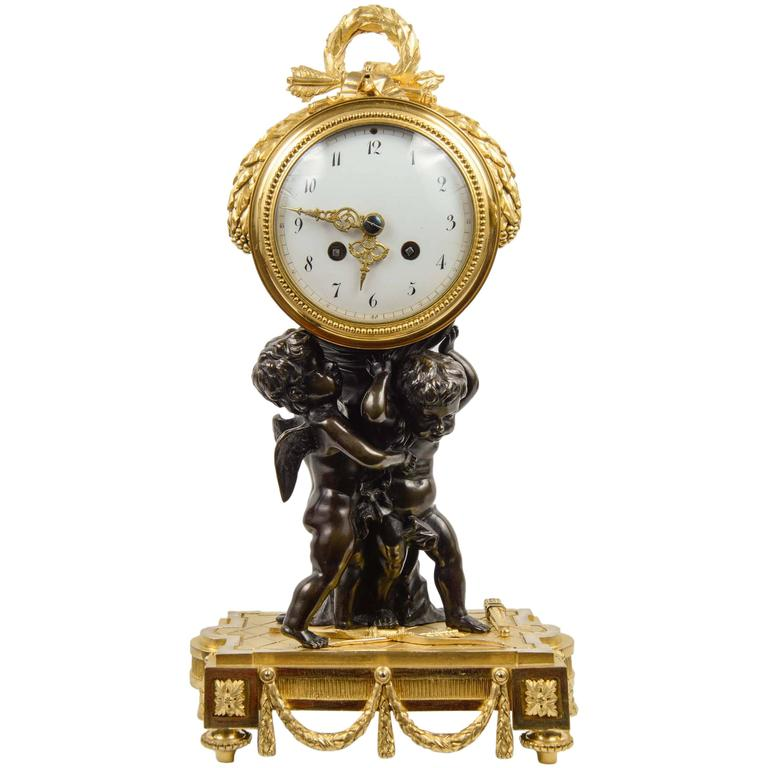 Unusual Louis Xvi Style Clock For Sale At 1stdibs