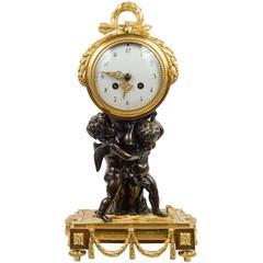 Unusual Louis XVI Style Clock