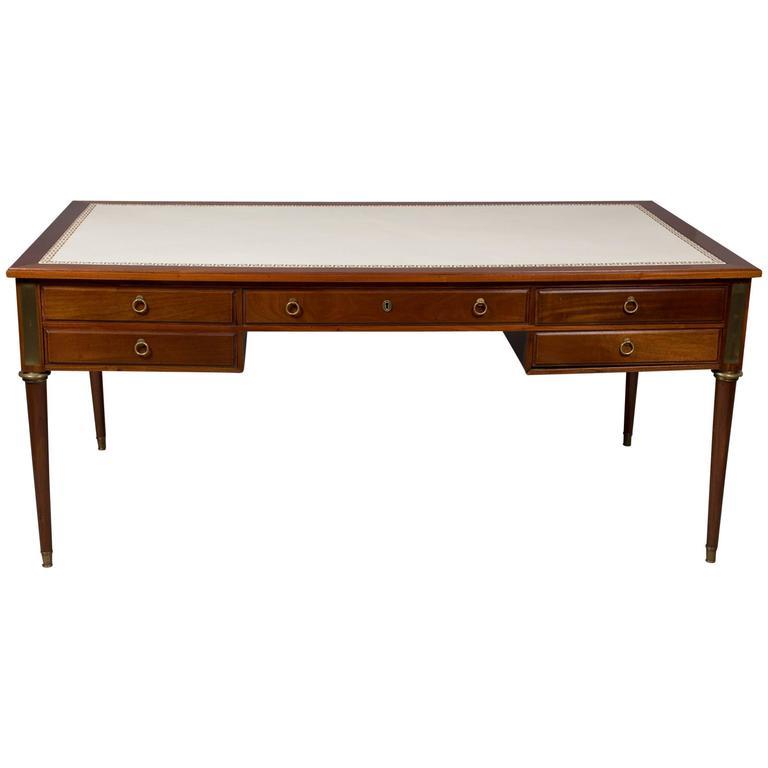 Jansen Neoclassical Style Bureau Plat 1