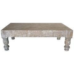 Dos Gallos Custom Coffee Table in Driftwood