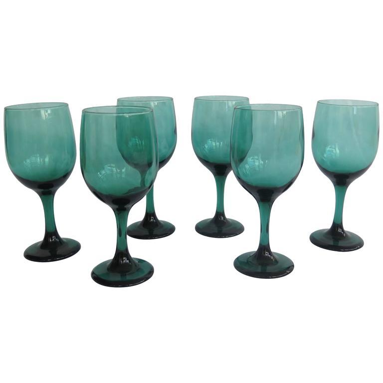 Bristol Green Glass Finger Bowl