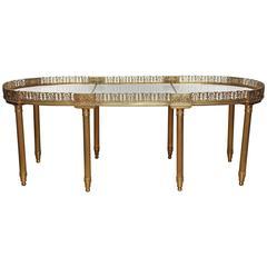 Fine French Surtout De Table Coffee Table