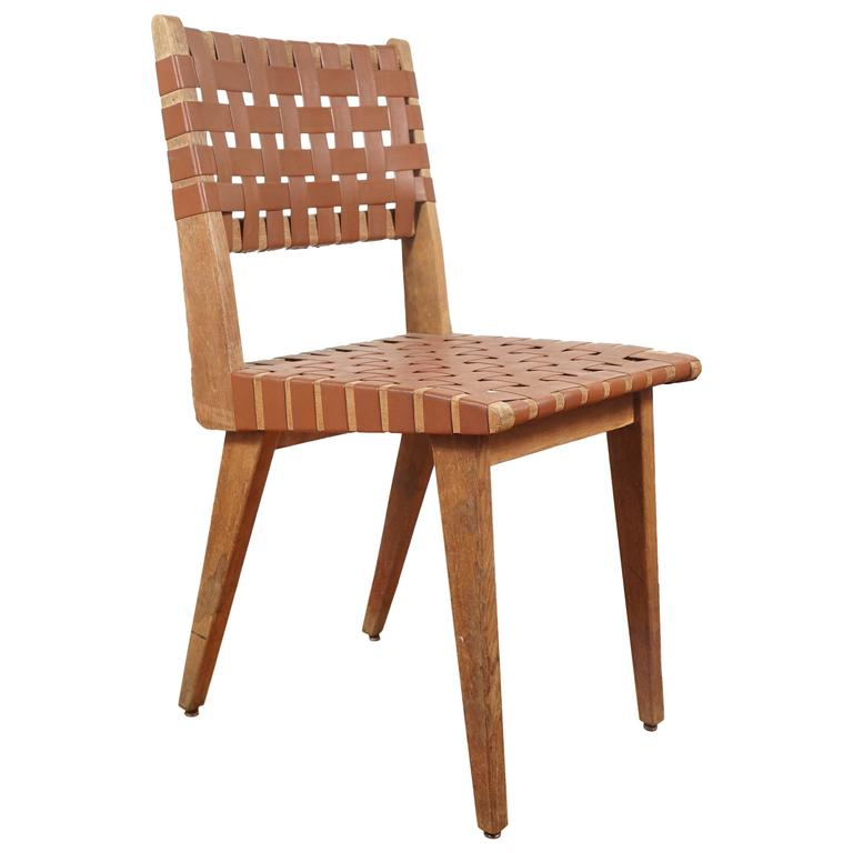 Mid century dining chair in the manner of jens risom at 1stdibs - Jens risom dining chairs ...