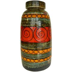 Large German Floor Vase by Scheurich
