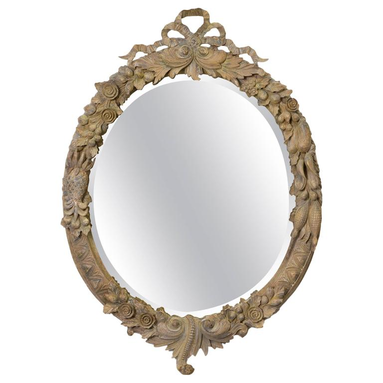 John Richard Carved Wood Mirror For