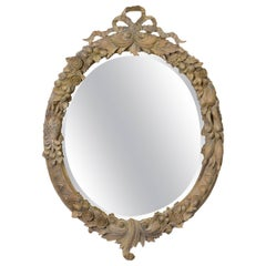 John Richard Carved Wood Mirror