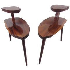 Vintage Free Edge End Tables