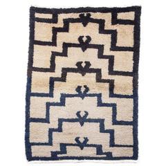 Vintage Central Anatolian Tulu Rug