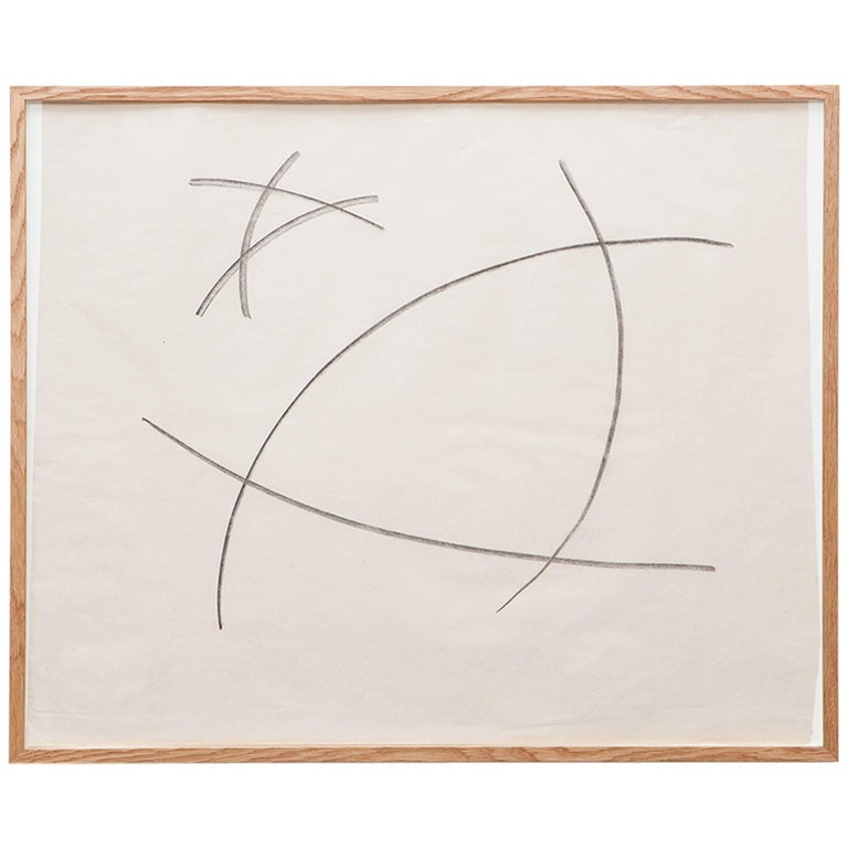 Anton Stankowski Drawing 'a' For Sale