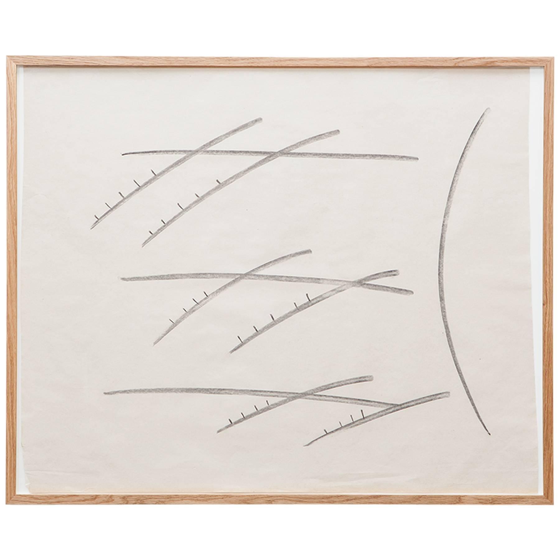 Anton Stankowski Drawing 'c'