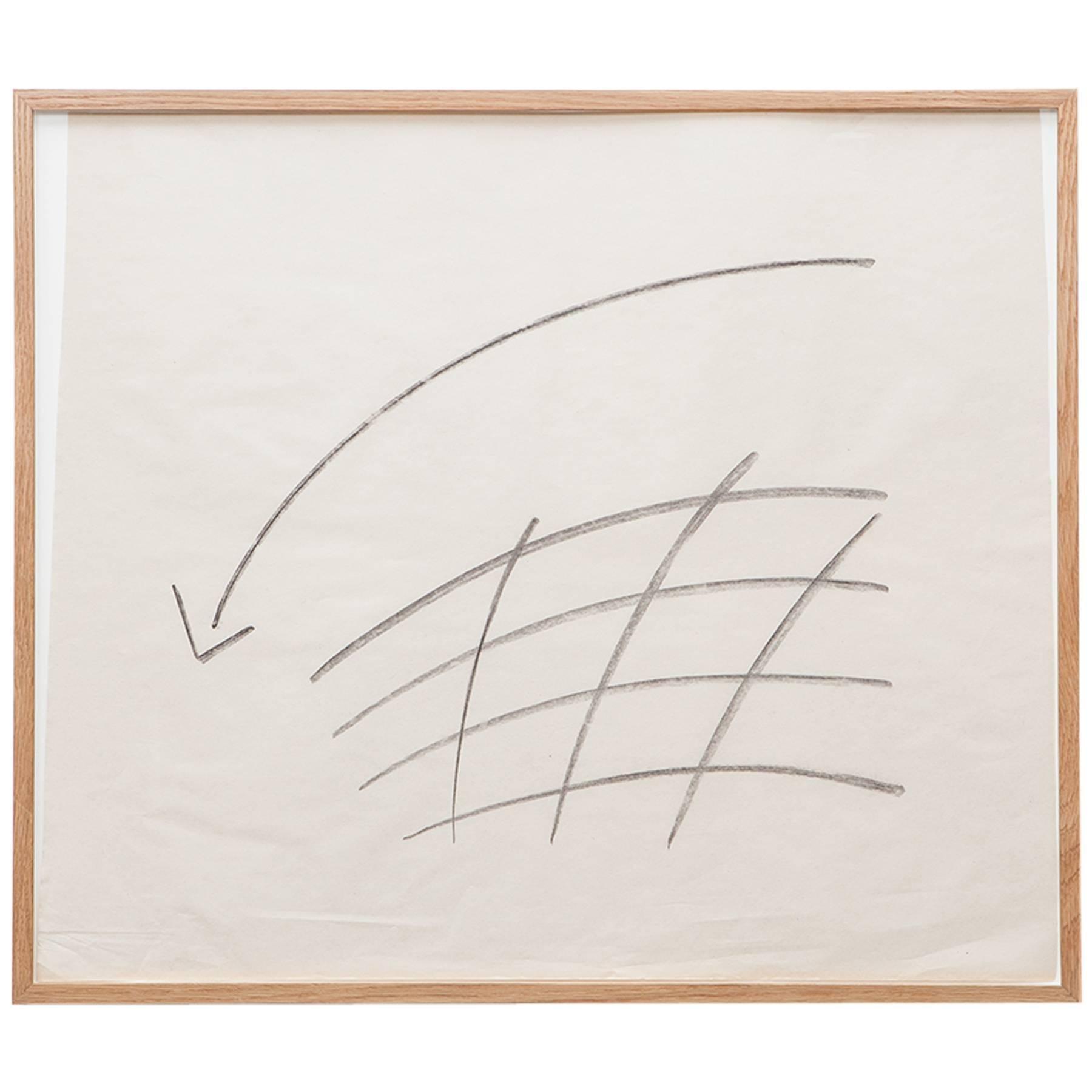 Anton Stankowski Drawing 'd'