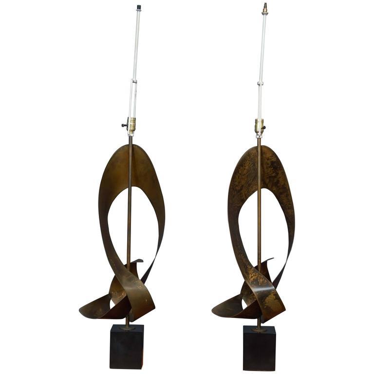 Harry Balmer Sculptural Lamps for Laurel