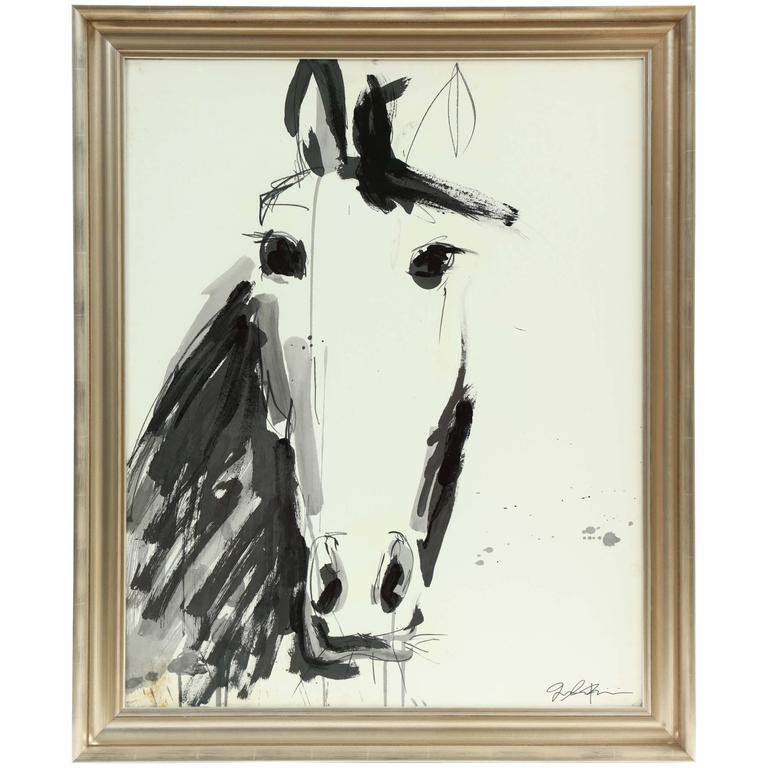 Horse Painting by Jenna Snyder-Phillips For Sale