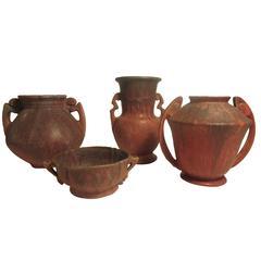 Roseville Carnelian Pottery