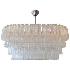 Venini Tronchi Glass Chandelier