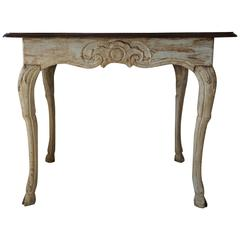Late 18th Century Baroque Walnut Table