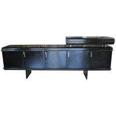"""Italian 1960s Sideboard """"Pellicano"""" by Vittorio Introini"""