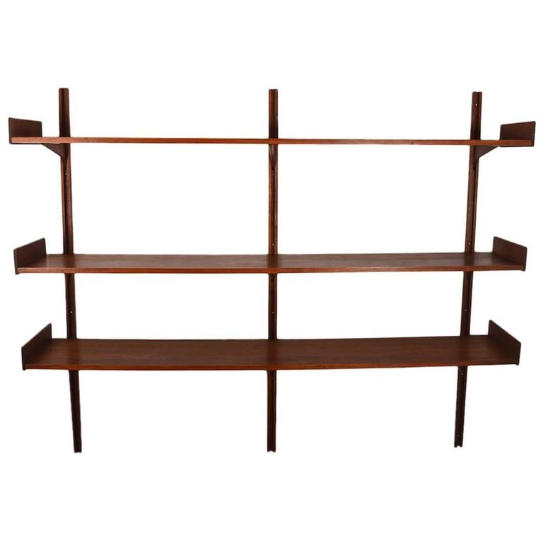 London Shelves Drawers Kitchen Contemporary With Stone And: Albert Of London Danish Modern Wall Mount Shelf At 1stdibs