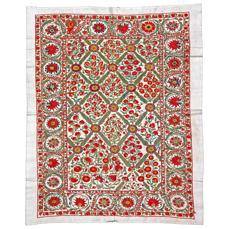 Vintage Uzbek Suzani Textile