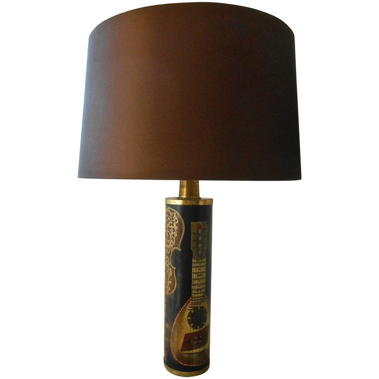 Rare 1950s Piero Fornasetti Table Lamp 1