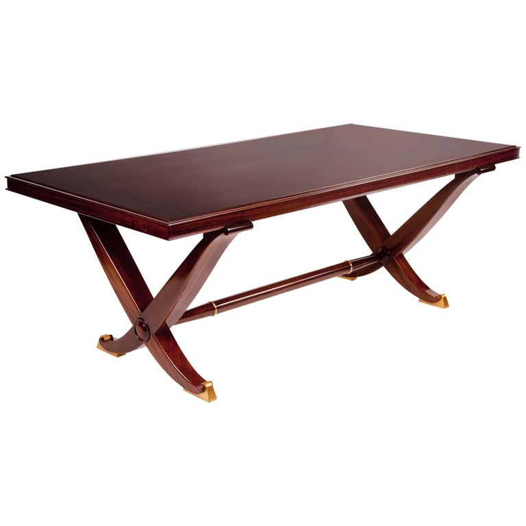 Dining Table by André Arbus, France, 1940 For Sale