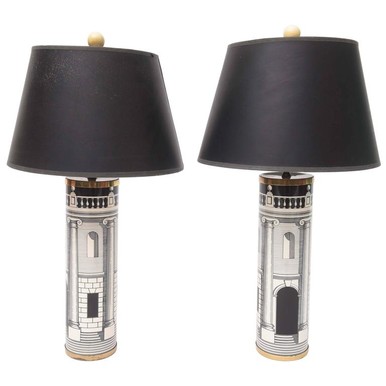 Fornasetti Table Lamps