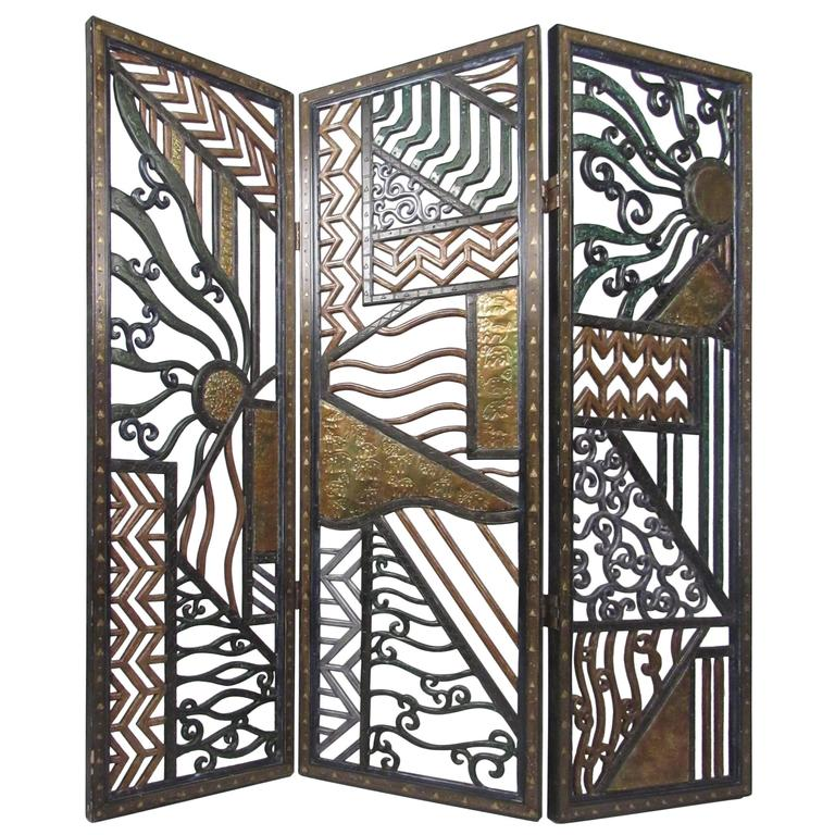 Decorative room divider at 1stdibs - Decorative partitions room divider ...