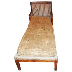 Period Empire Chaise