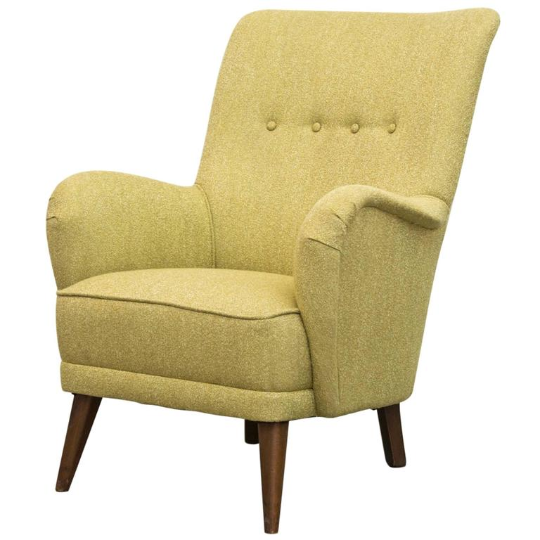 Lovely Green Theo Ruth for Artifort Lounge Chair