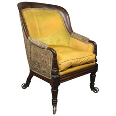 William IV Rosewood Bergere Chair