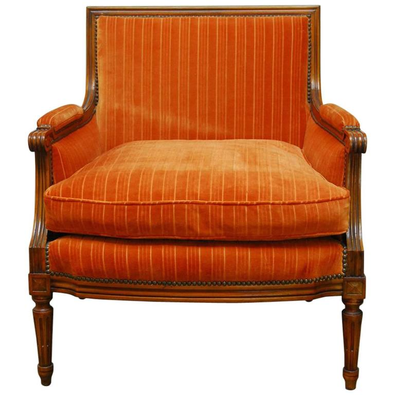 French louis xvi style marquise armchair for sale at 1stdibs