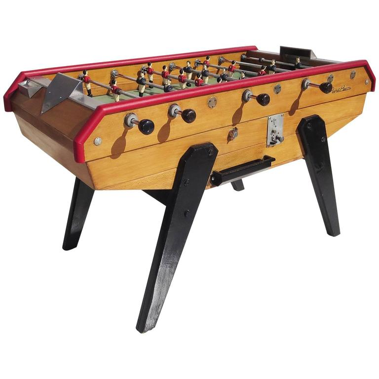 6f2917b92e482d French Mid-Century Foosball Table by Rene Pierre at 1stdibs