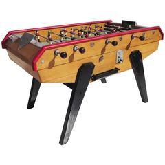 French Mid-Century Foosball Table by Rene Pierre