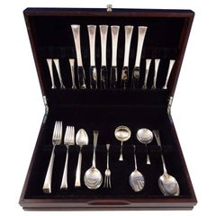 Tranquility by International Sterling Silver Flatware Service for Six Set 41 Pcs